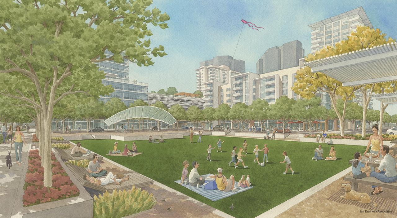 Westfield Promenade Park View
